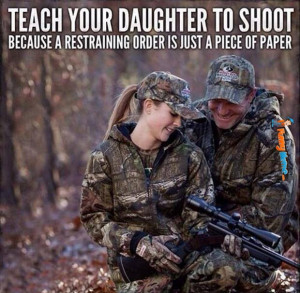 Funny Memes – Teach your daughter to shoot