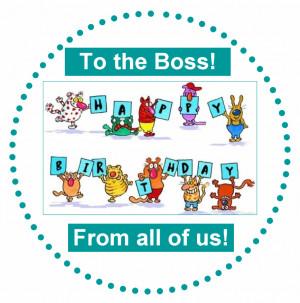 Happy Birthday Wish Boss