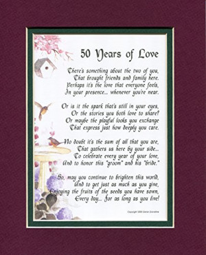 Anniversary Poems on Pinterest - Parents Anniversary Quotes, Quotes T ...