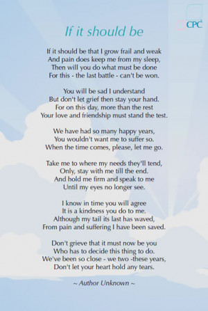 Bereavement Support - Poems