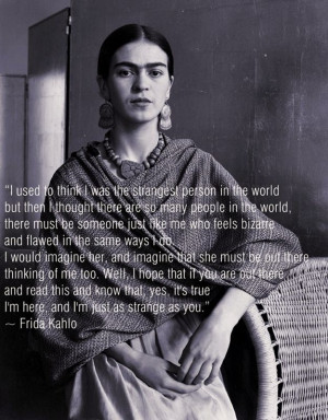 Frida Kahlo Quotes Picture