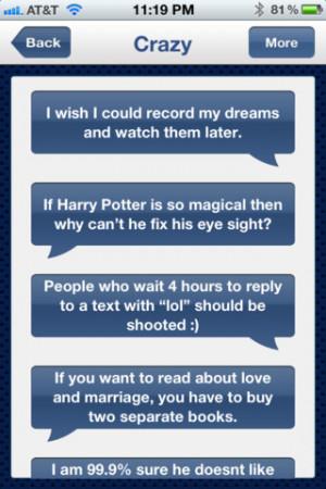 ... Status - Funny Quotes & Status Updates for Facebook iPhone iPad iOS