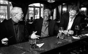 Michael Caine & Morgan Freeman & Liam Neeson