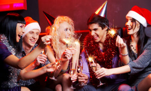 Celebrating Christmas with friends is surely fun. Friends are like ...