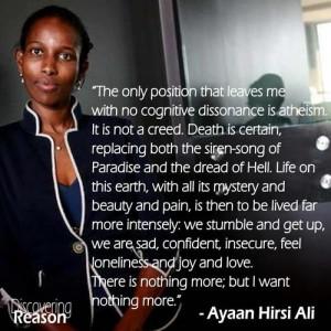 Ayaan Hirsi Ali quote