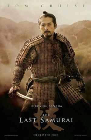 ... titles the last samurai names hiroyuki sanada hiroyuki sanada in the