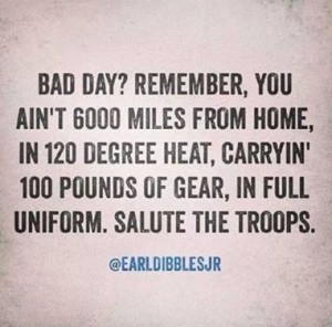 Salute the troops