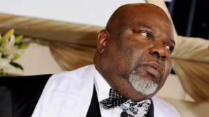 ... , comes more good news for film producer and pastor T.D. Jakes