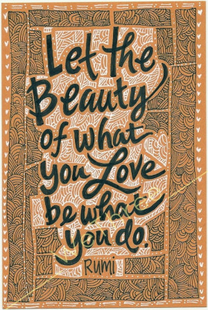 Rumi Quotes About Beauty. QuotesGram