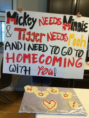 cute homecoming/dance asking idea! especial for a girl or guy who ...