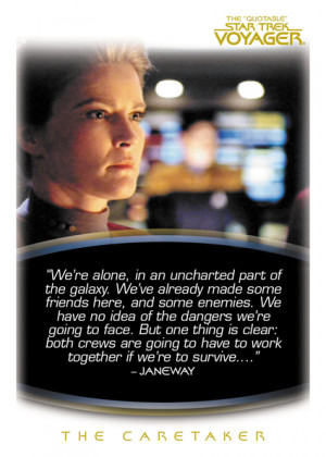 Great Star Trek Quotes -- Voyager - HD Wallpapers