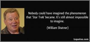william shatner star trek