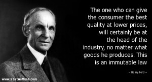 Law Quotes Famous quote by Henry Ford