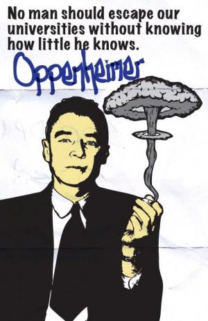 Robert Oppenheimer Print 11x17 - Famous Seniors