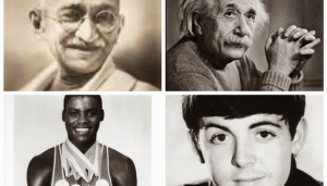 Famous Vegetarian Entertainers, Intellectuals, Athletes, and Leaders