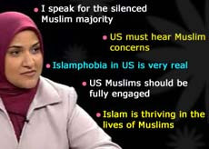 WASHINGTON – Dalia Mogahed, a hijab-clad American Muslim, has made ...
