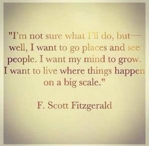 Scott Fitzgerald Love Quotes. QuotesGram