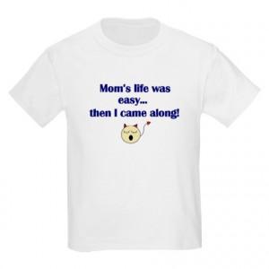 Bratty Baby Gifts > Bratty Baby Tops > FUNNY SAYINGS Kids T-Shirt