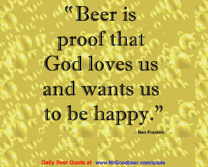 Beer Quote Screensaver screenshot 1