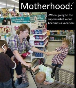Grocery Shopping Humor