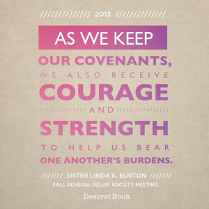 ... one another's burdens.