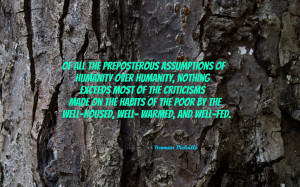 Of all the preposterous assumptions... quote wallpaper