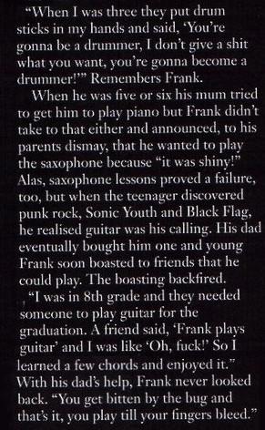 Frank Quotes♥ - frank-iero Fan Art