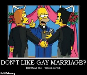 Gay Marriage vs Traditional Marriage