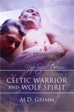 Celtic Warrior and Wolf Spirit