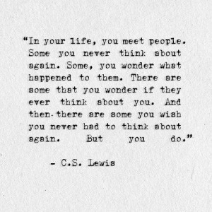Tags: cs lewis , life , think