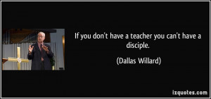 Dallas Willard Quote