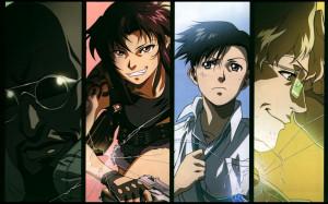 Anime - Black Lagoon Revy Reby Rokuro Okajima Benny Dutch Wallpaper