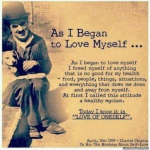 Begin to Love Yourself