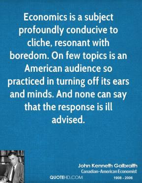 ... American audience so practiced in turning off its ears and minds. And