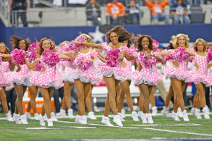 Broncos Cowboys Dallas Cheerleaders