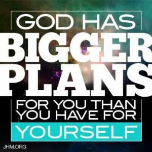 Gods plans