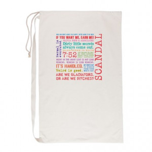 Cool Gifts > Cool Bags & Totes > Scandal Quotes [multicolor] Laundry ...