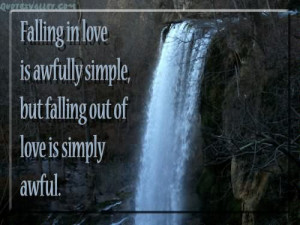 Falling In Love Is Awfully Simple