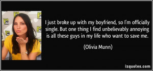 Boyfriend Break Up Quotes