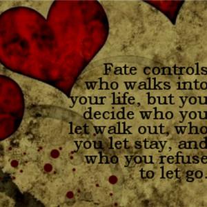 believe in fate :)