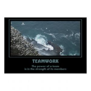 Teamwork Motivational Posters & Prints