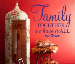 download this Bringing Family Together Quotes Vinyl Wall Decals ...