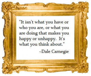 dale carnegie quote.happiness