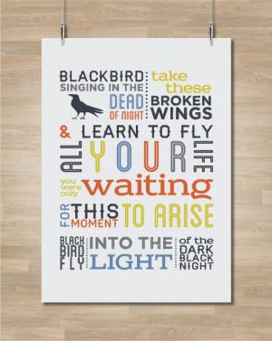 ... Blackbird