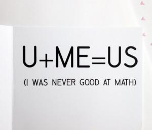 13. Funny Valentine Card Math Calculus Card | via prettyprintedpaper