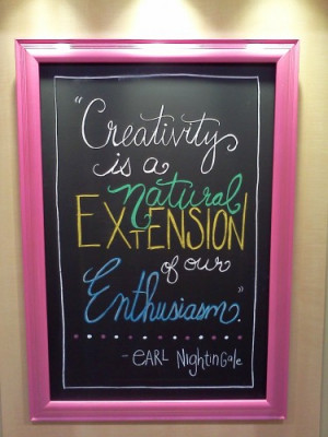 ... is a natural extension of our enthusiasm. – Earl Nightingale