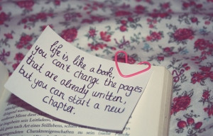 starting a new chapter...
