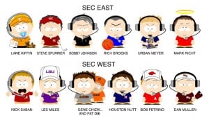 Thread: SEC Coaches as South Park Characters
