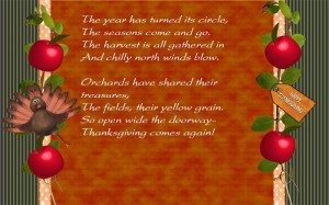 To Share These Famous Christian Thanksgiving Poems For Preschool ...