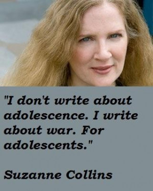 Suzanne Collins Quotes. QuotesGram Catching Fire Movie Quotes